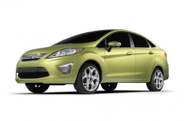 2011 Ford Fiesta sedan