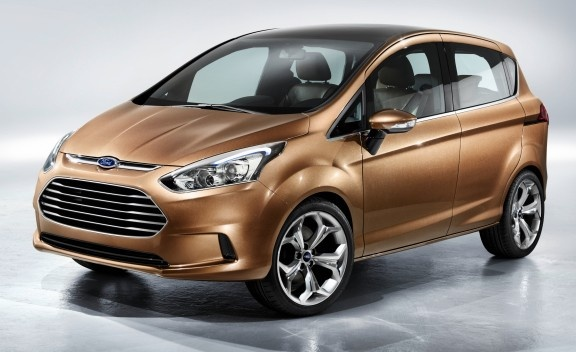 Ford B-Max Concept Ahead of 2011 Geneva Motor Show