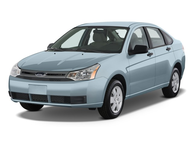 2011 Ford Focus 4-door Sedan S Angular Front Exterior View