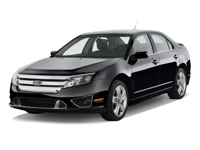 2011 Ford Fusion 4-door Sedan SPORT FWD Angular Front Exterior View
