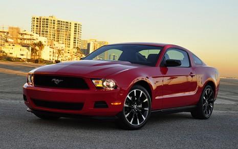 2011 Ford Mustang V-6. Photo: Anne Proffitt.