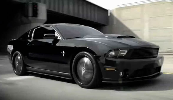 ford ramps up advertising with 2011 mustang commercial. Black Bedroom Furniture Sets. Home Design Ideas