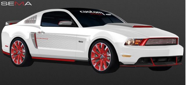 Ford's 2010 SEMA Mustangs