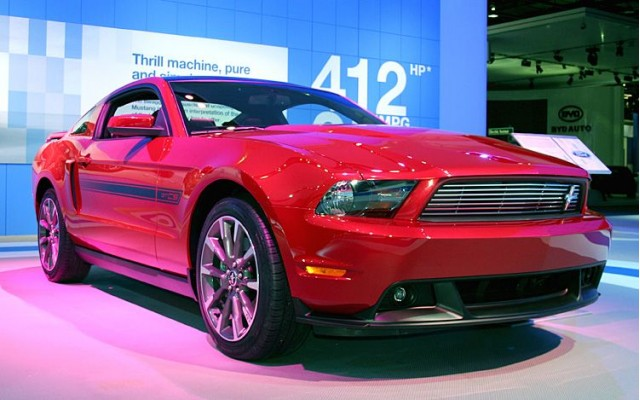 nelly custom california special 2011 ford mustang gts debut in detroit. Black Bedroom Furniture Sets. Home Design Ideas