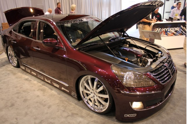 2010 SEMA Show: Mummbles Marketing 2011 Hyundai Equus