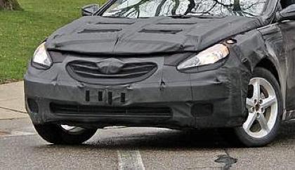 2011 Hyundai Sonata Spied!