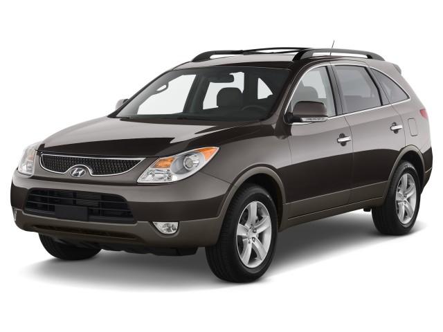 2011 Hyundai Veracruz FWD 4-door GLS Angular Front Exterior View