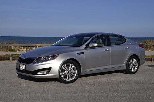 2011 Kia Optima. © 2011 Anne Proffit