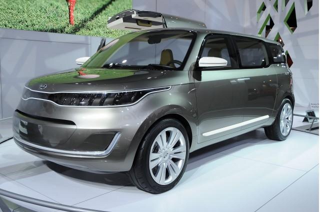2011 Kia KV7 Concept. Photo by Joe Nuxoll.