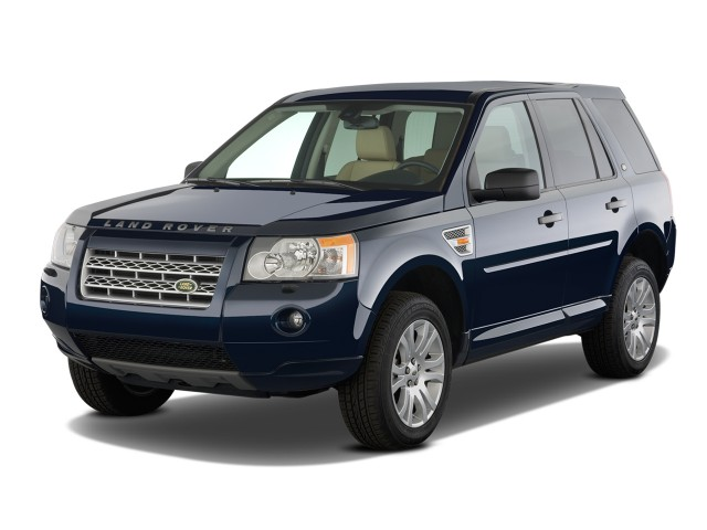 2011 Land Rover LR2 AWD 4-door HSE Angular Front Exterior View