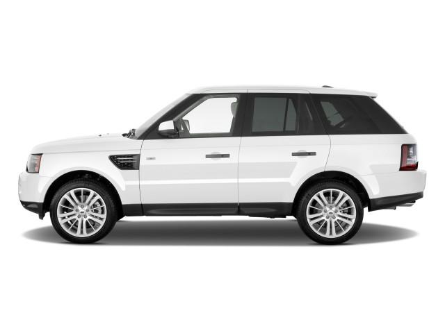 2011 Land Rover Range Rover Sport 4WD 4-door HSE Side Exterior View