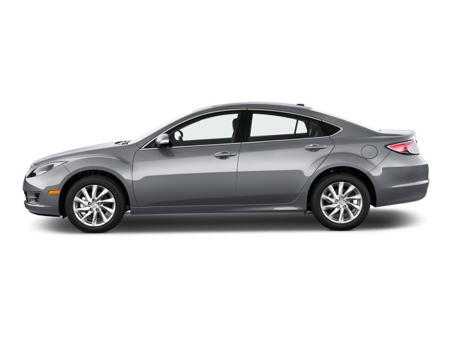 2011 Mazda MAZDA6 4-door Sedan Auto i Grand Touring Side Exterior View