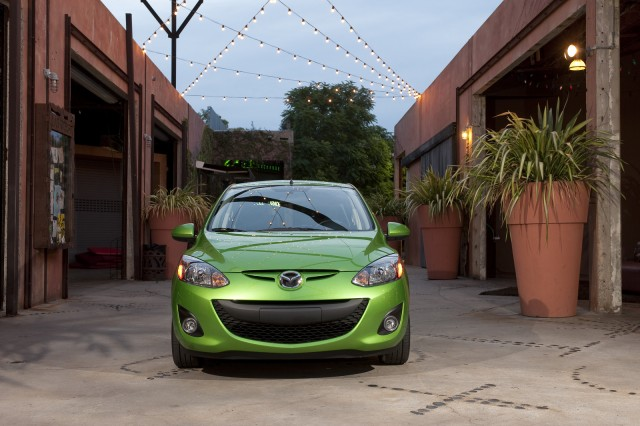 2011 Mazda2 exterior and detail