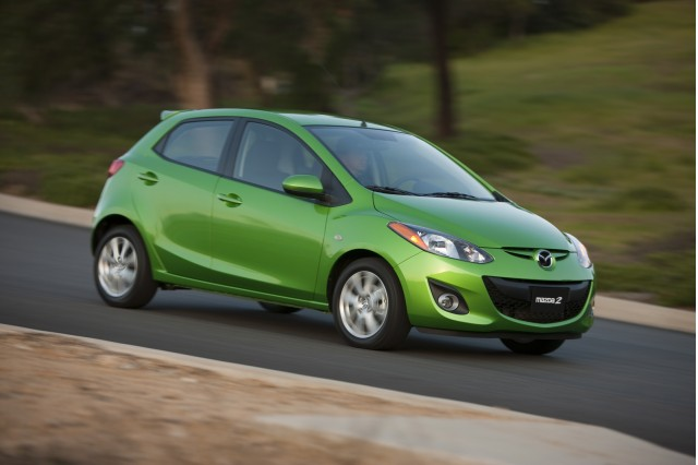 mazda2 electric car leasing starts in japan. Black Bedroom Furniture Sets. Home Design Ideas