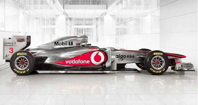 2011 McLaren MP4-26 F1 race car