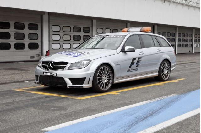 2011 Mercedes-Benz C63 AMG Wagon Safety Car