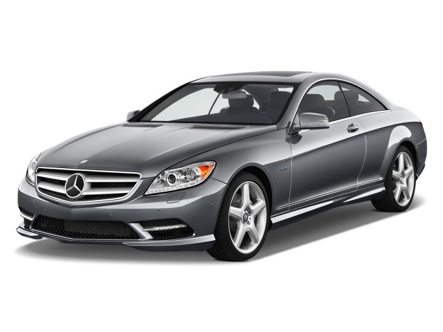 2011 Mercedes-Benz CL Class 2-door Coupe 5.5L V8 4MATIC Angular Front Exterior View