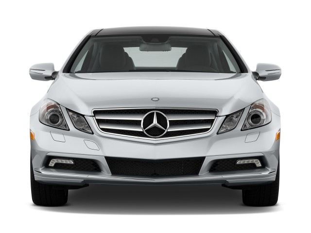 2011 Mercedes-Benz E Class 2-door Coupe 3.5L RWD Front Exterior View