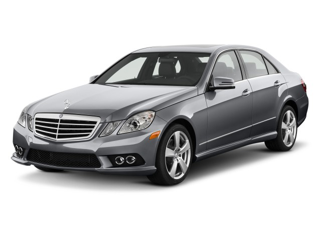 2011 Mercedes-Benz E Class 4-door Sedan Sport 3.5L RWD Angular Front Exterior View