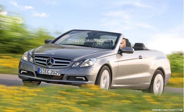 2011 Mercedes-Benz E-Class Cabrio preview