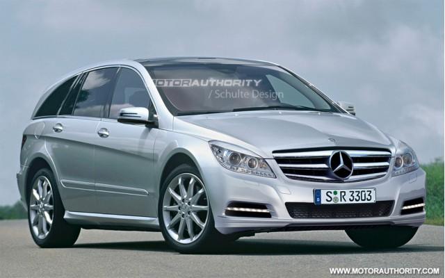 2011 Mercedes-Benz R-Class facelift rendering