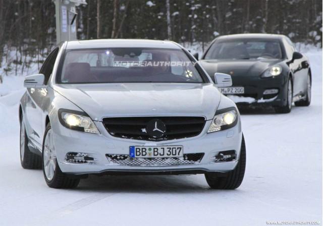 2011 Mercedes-Benz S-Class spy shots