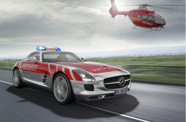 2011 RETTmobil Mercedes-Benz SLS AMG medical vehicle study