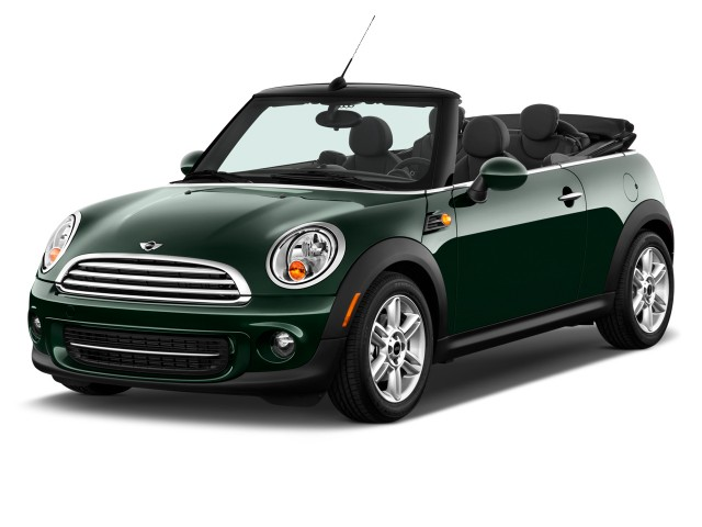 2011 MINI Cooper Convertible 2-door Angular Front Exterior View
