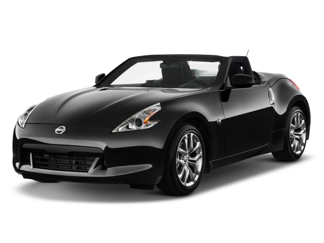 2011 Nissan 370Z 2-door Roadster Auto Angular Front Exterior View