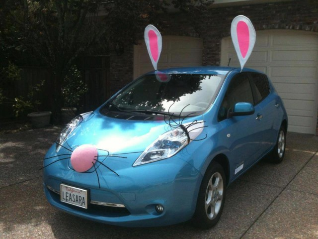 Happy Easter From The Zero Emission Easter Bunny