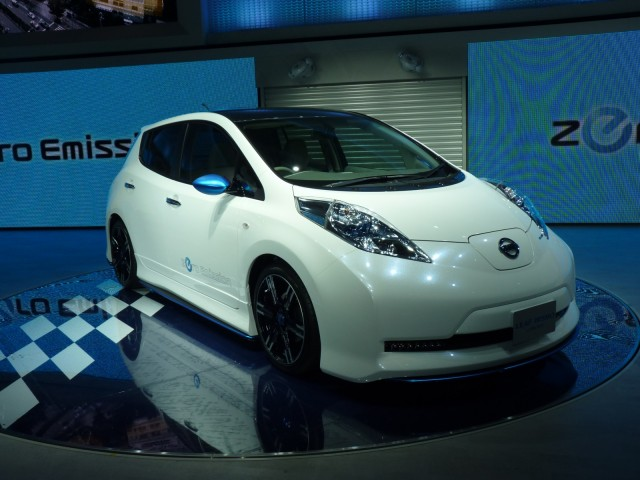 Nissan Gives 2012 Leaf Sporty Makeover Announces 2012 Leaf Nismo