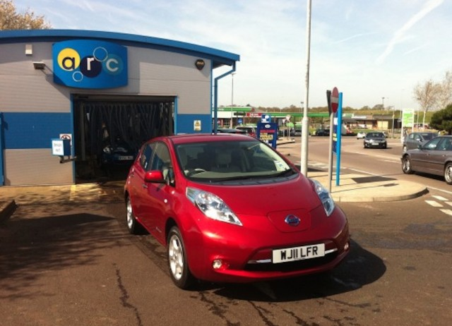 2011 Nissan Leaf owned by Nikki Gordon-Bloomfield