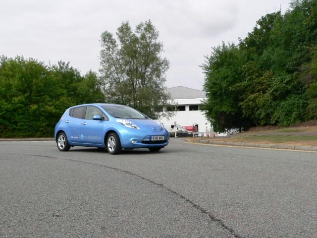 2011 Nissan Leaf U.K. spec