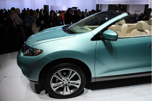 2011 Nissan Murano CrossCabriolet live photos