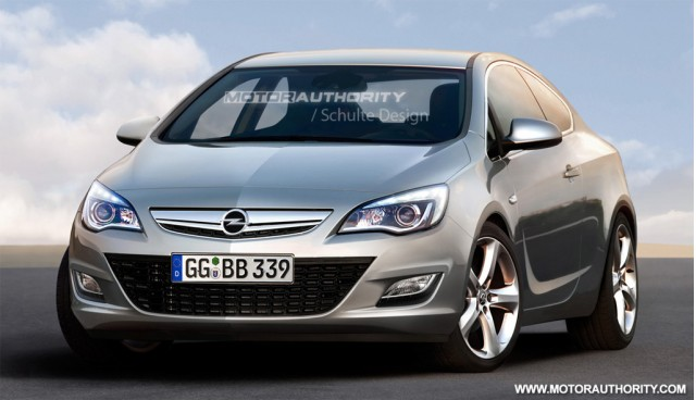 2011 Opel Astra Sport Coupe