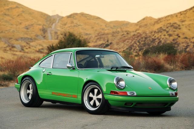 Porsche 911, restored by Singer, 2011