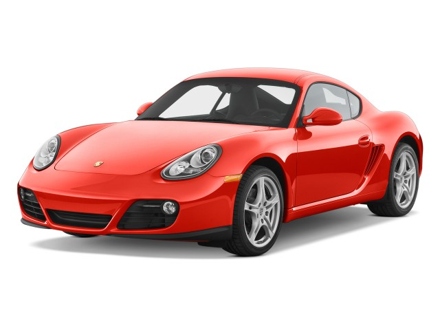 2011 Porsche Cayman 2-door Coupe Angular Front Exterior View