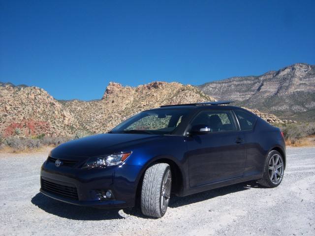 Driven Report 2011 Scion Tc Takes On Sin City