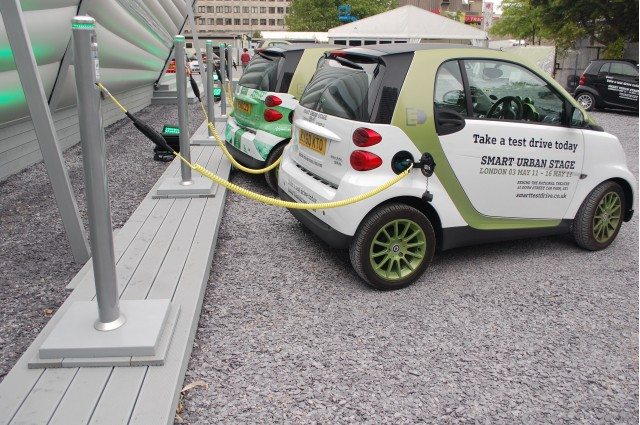 Smart ForTwo Electric Drive at Urban Stage, London
