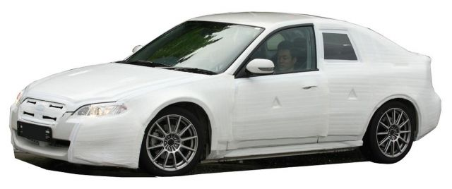 2011 Subaru Coupe Spy Shots