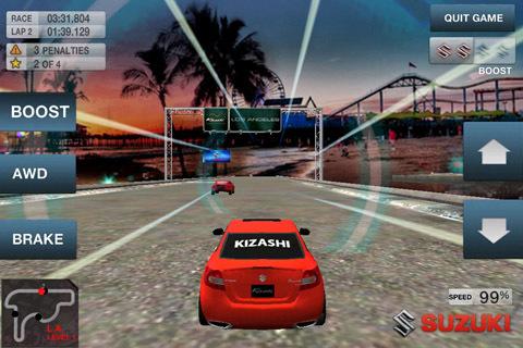 Suzuki Releases Kizashi 'Ring Of Fire' Racing App
