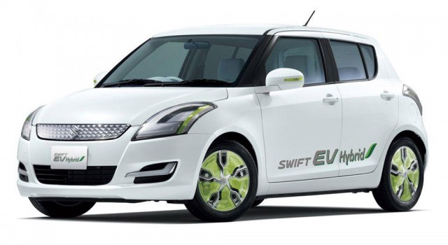 2011 Suzuki Swift Electric Car Concept