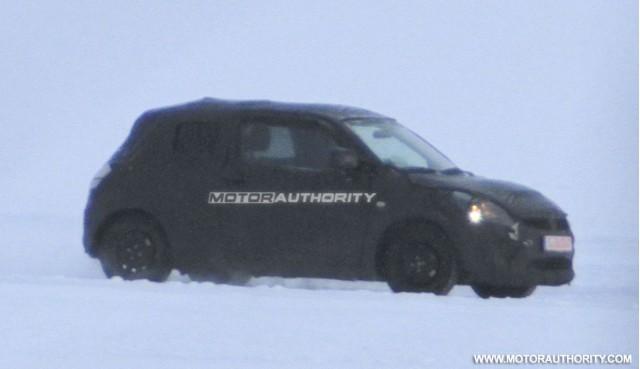 2011 Suzuki Swift spy shots