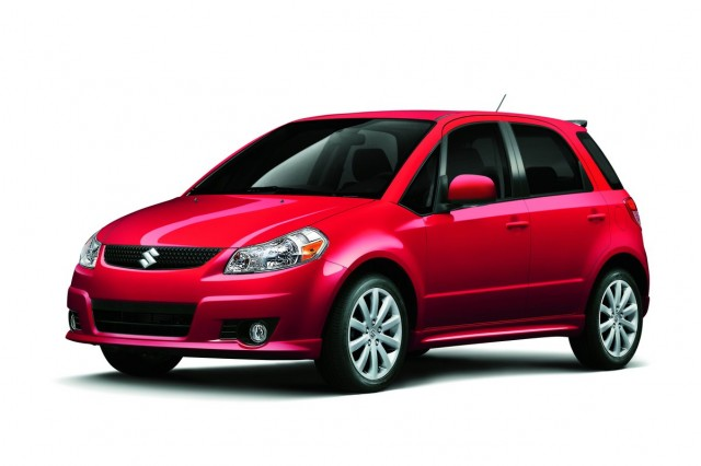 2012 Suzuki Sx4 Review Ratings Specs Prices And Photos The Car