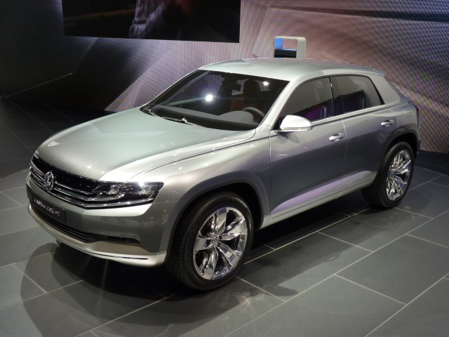2011 Volkswagen Cross Coupe concept