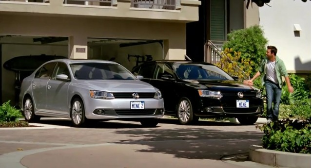 Screencap from 2011 Volkswagen Jetta commercial