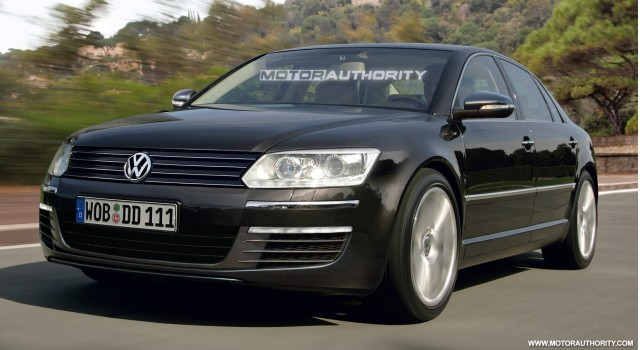 2011 volkswagen phaeton facelift preview rendering 001