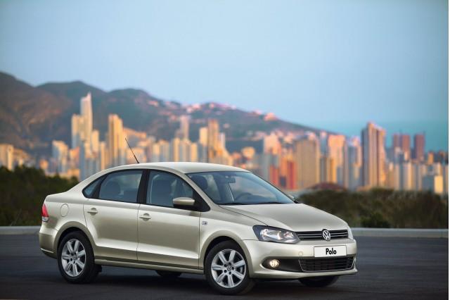 2011 Volkswagen Polo Sedan unveiled in Russia