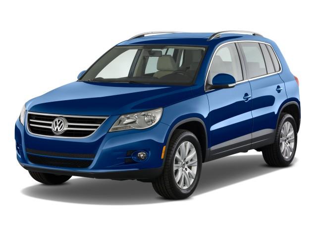 2011 Volkswagen Tiguan 2WD 4-door Auto S Angular Front Exterior View