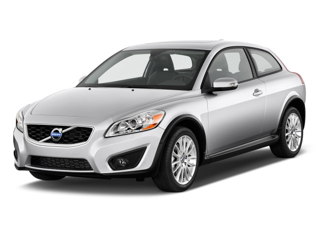 2011 Volvo C30 2-door Coupe Auto Angular Front Exterior View